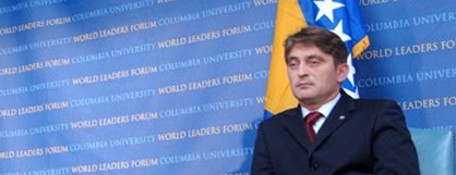 Željko Komšić (Columbia University World Leaders Forum)